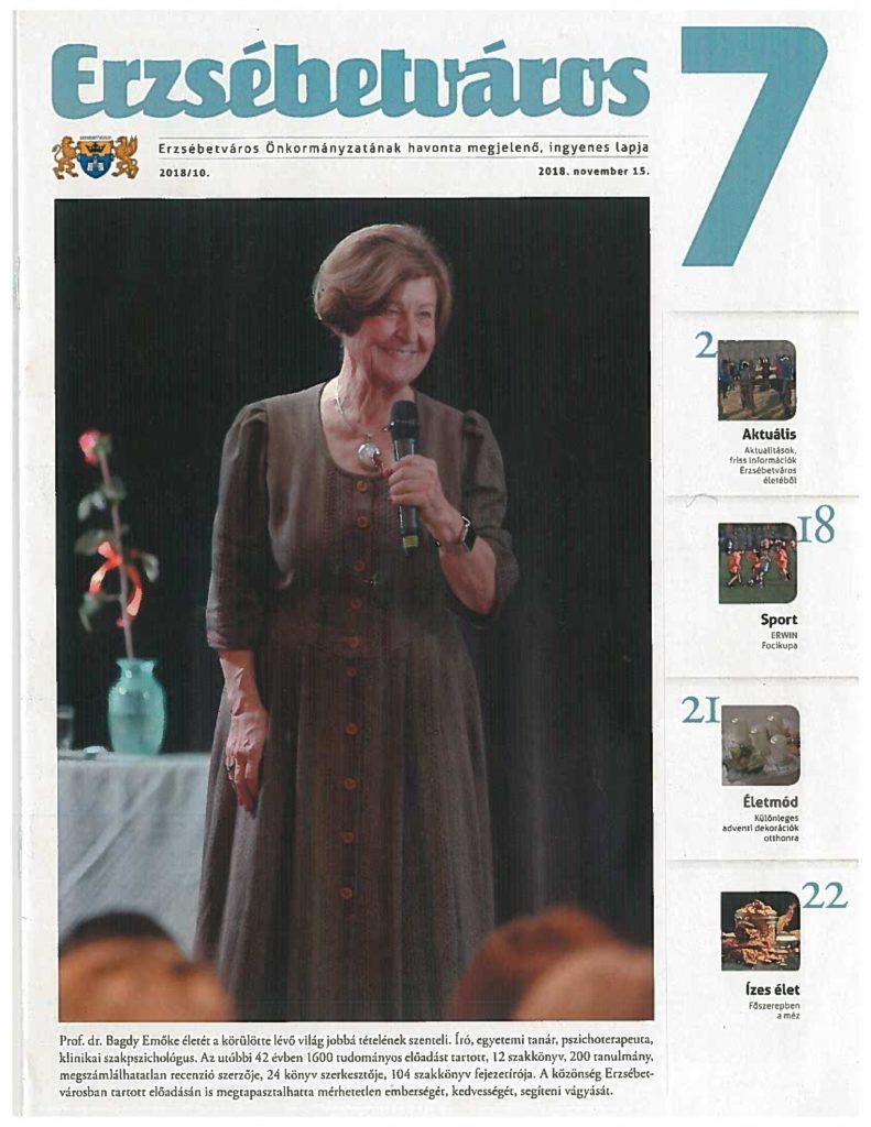Dr. Bagdy Emőke-Erzsébetváros lapja interjú_20181115-1