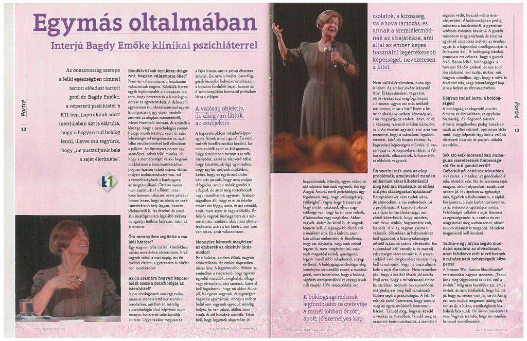 Dr. Bagdy Emőke-Erzsébetváros lapja interjú_20181115-2